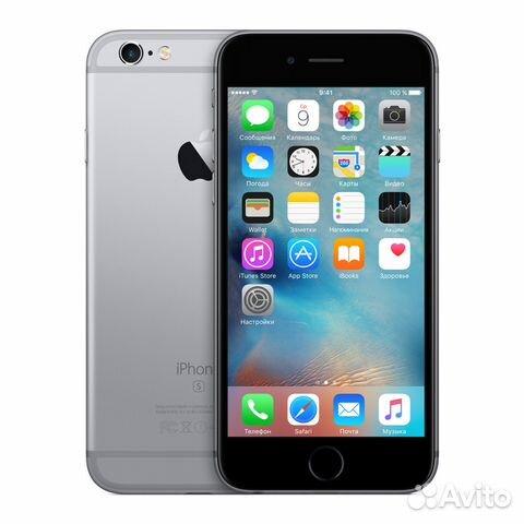 e23b2b9d212 Apple iPhone 6S 32GB Space Gray купить в Санкт-Петербурге на Avito ...