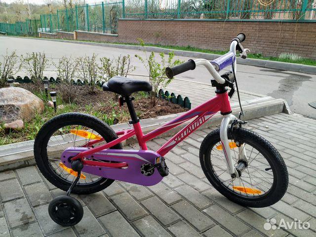 caa4d62d07f Велосипед Specialized hotrock 16 coaster girls купить в Москве на ...