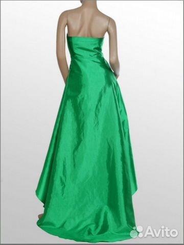 Платье вечернее атласное новое  89283449534 купить 3