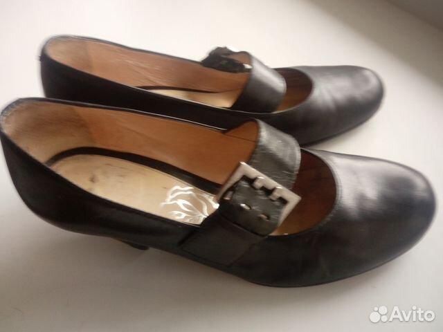 Туфли кожаные с ремешком. Эконика.Ria Rosa.36р-р 89117015256 купить 3