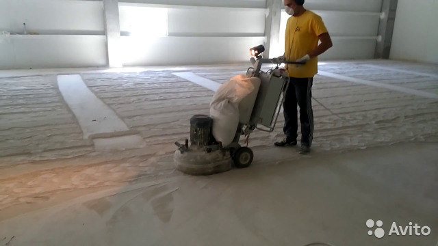 Авито шлифовка бетона цементный раствор пропорции м100