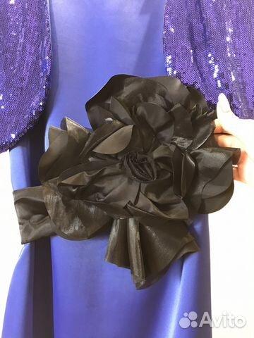 Платье новое с поясом-бант и болеро 89628553030 купить 2