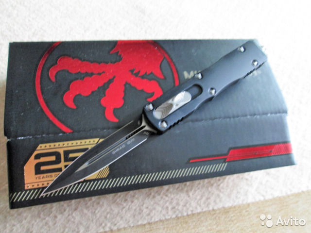 Нож-Microtech Dirac Dagger Automatic-Новинка 2019 купить в Москве на