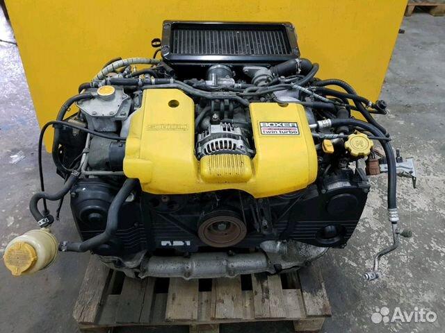 89625003353 Двс EJ206 полной комплектации Subaru Legacy