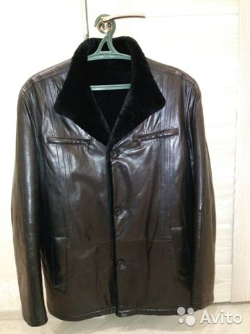 Кожаная куртка (дубленка) 89051514500 купить 2