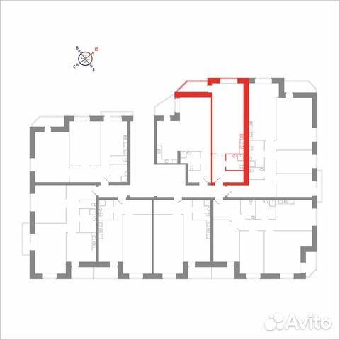 Студия, 37.4 м², 5/8 эт. 89115506177 купить 2