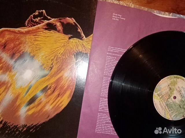 Виниловая пластинка Uriah Heep Return To Fantasy  89086152795 купить 3