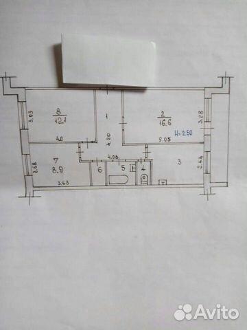 3-к квартира, 61 м², 4/5 эт. купить 7
