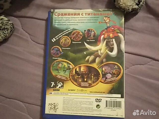 Диск для PlayStation2 крэш битва титанов  купить 2