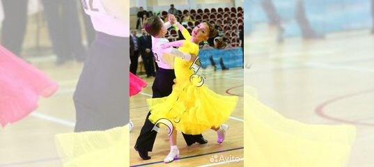 698985a04b9 Яркий желтый стандарт платье бальные танцы купить в Республике Крым на  Avito — Объявления на сайте Авито