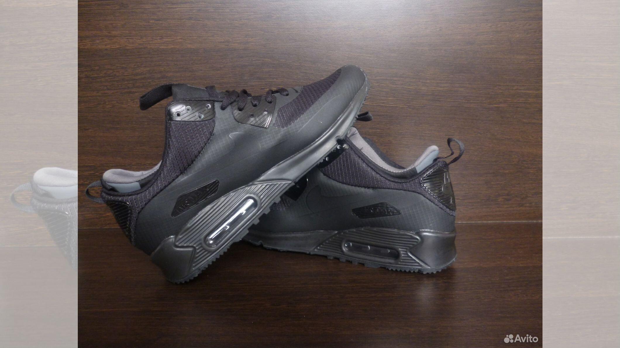 Кроссовки Nike Air Max 90 Mid Winter Black купить в Воронежской области на  Avito — Объявления на сайте Авито 9565f97e57e