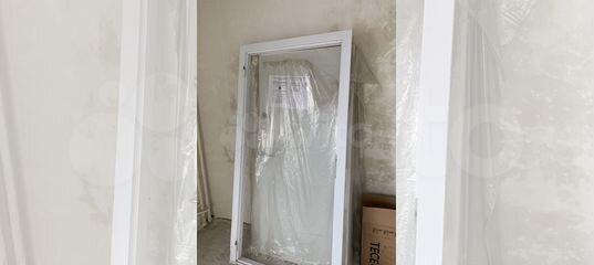 Дверь от застройщика пик