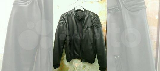 b52fc2bca4e3 Кожаная мужская куртка zara 44  XL купить в Республике Коми на Avito —  Объявления на сайте Авито