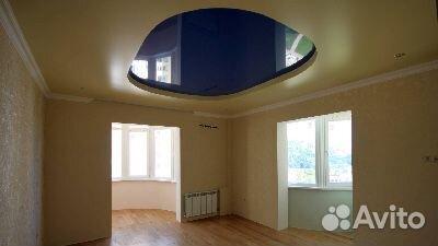 Потолки натяжные в гостиную