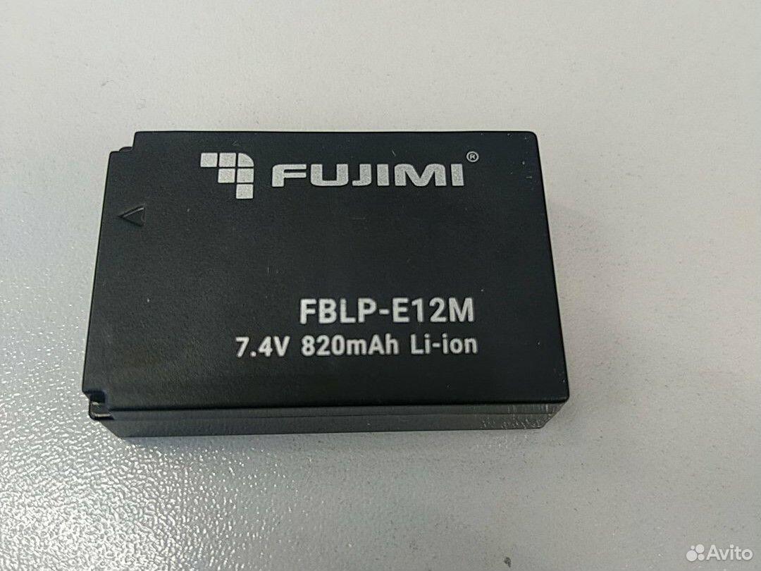 Аккумулятор fujimi LP-E12 для eos m, eos 100 canon