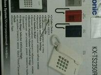 Телефон стационарный проводной panasonic KX-TS2350