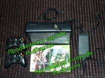 Xbox360 с 2 джойстиками + игры