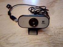 Logitech Webcam C100 (USB, рабочее состояние) — Товары для компьютера в Омске
