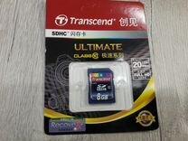 Sdhc карта памяти 8Gb class 10