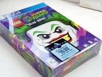 Lego DC Super Villains Deluxe Edition PS4 новая