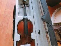 Скрипка новая Амун из натурального дерева