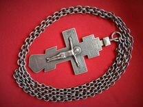 Крест церковный 84 проба 19 век