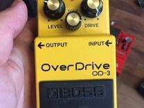 Гитарная педаль Boss overdrive