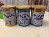 Детское питание, каши и смесь Nan