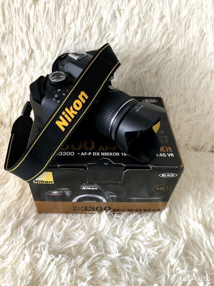 Фотоаппарат Nikon D3300AF-P 18-55VR Kit зеркальный  89177610980 купить 5