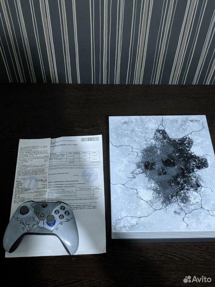 Xbox One X (ограничения серия gears 5)  89873648067 купить 4