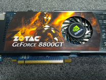 Легендарная GeForce GT 8800 zotak