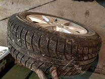 Продам зимние оригинальные колёса Mercedes 225/55