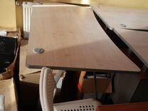 Стол офисный с тумбочкой