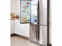 Холодильник Side-by-Side Beko GNE 114610 FX — Бытовая техника в Челябинске