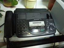 Факс Panasonic черный с автоответчиком