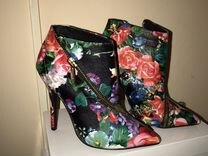 Туфли из велюра новые