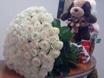 Цветы Розы Букеты шары и многое другое.Доставка2