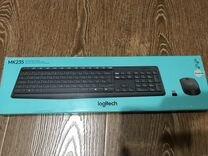 Беспроводной комплект клава+мышь Logitech MK235