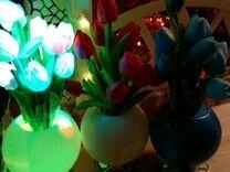 Светодиодные тюльпаны