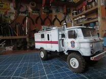 Сборные модели авто газ-66 мчс. 1\35