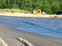 Песок речной для дренажа