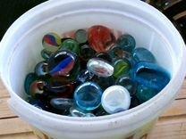 Стеклянные шарики для аквариума