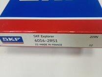 Подшипник 6016 2RS1 SKF (80*125*22)