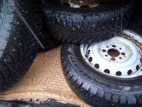 Комплект зимних колес R13 на штампах