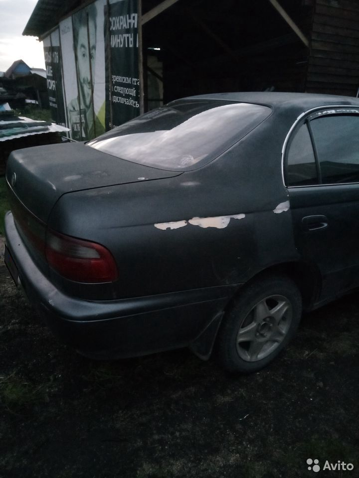 Toyota Corona, 1992  89609425968 купить 4