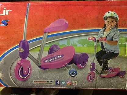 Продаю детский электро велосипед