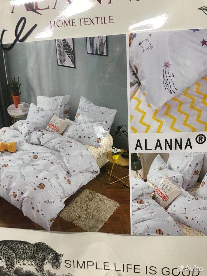 Семейный комплект постельного белья, Сатин  89630122262 купить 6