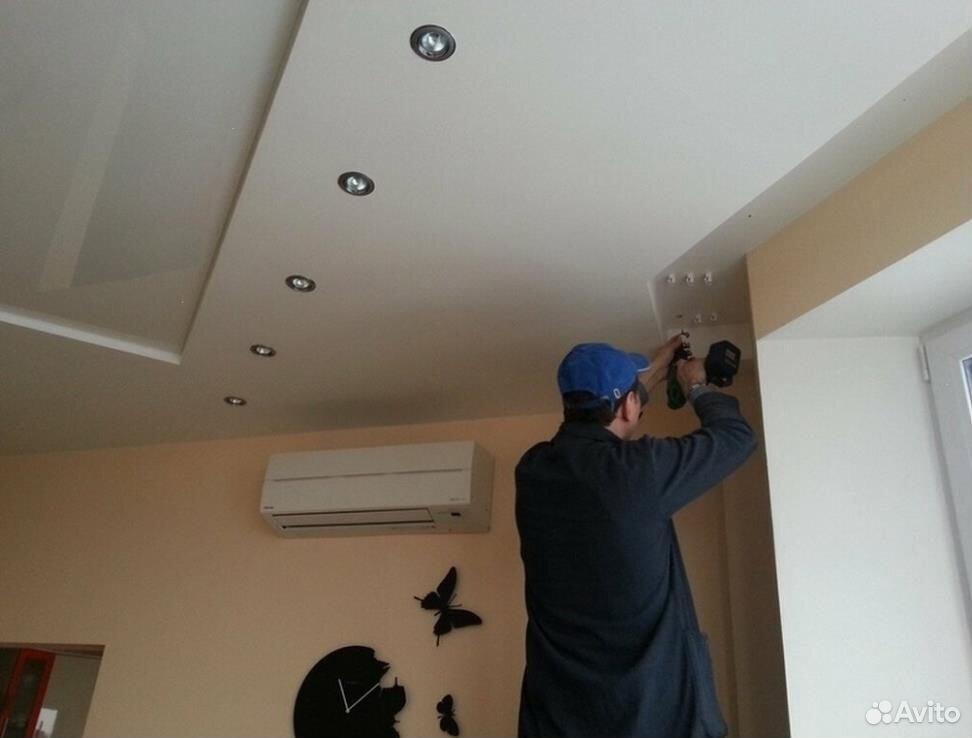 Натяжной потолок за 1 день без пыли  89930298074 купить 1