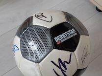 Мяч с автографами сборной Германии фифа18 в Москве