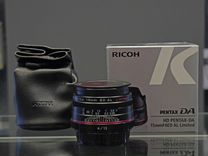 Объектив HD pentax DA 15mm F4 ED AL Limited